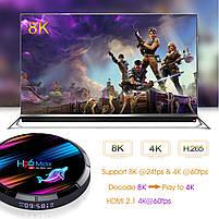 Налаштована TV приставка H96 max X3 4/32 ГБ (Смарт тв приставки на андроїд, TV Box x96 mini), фото 8