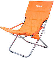 Шезлонг раскладной Ranger Comfort 4 садовое пляжное кресло
