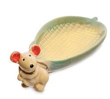 Фигурка керамическая, блюдо Мышка CF-15