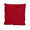 Наволочка, 40*40 см, (хлопок), (красный), фото 2