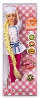 Детская кукла с аксессуарами.Кукла детская игрушечная.Игрушка кукла Повар.
