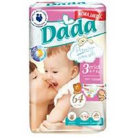 Подгузники Dada Premium 4-9 кг., Унисекс, 3 (Midi), Белый