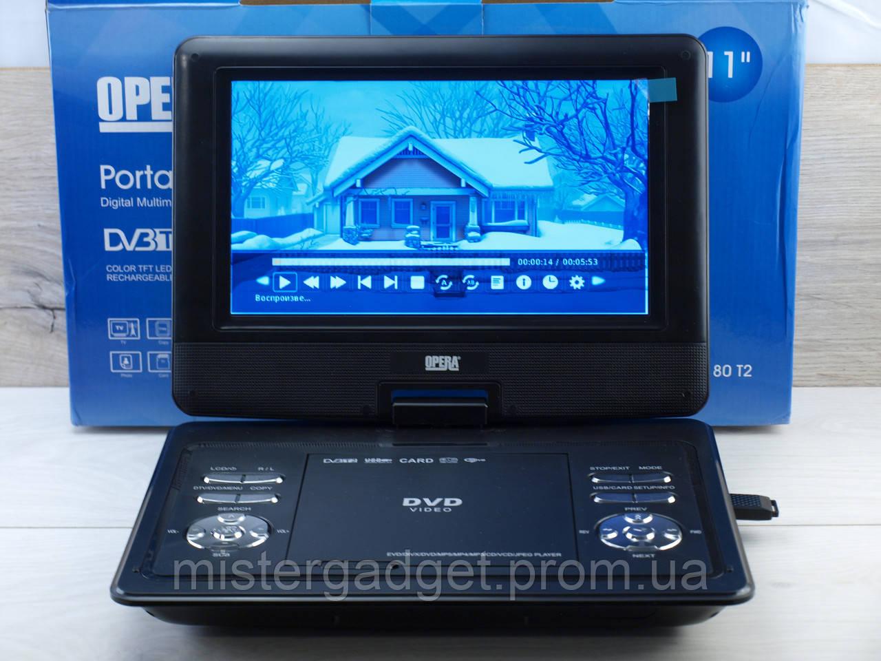 Портативный плеер TV DVD Opera NS -1180 DVB-T2