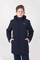 Демисезонная куртка на мальчика синяя M-64A