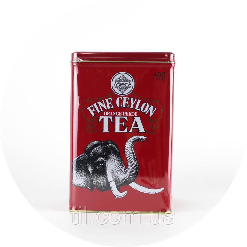 Чай черный крупнолистовой «Fine Ceylon Tea» (Замечательный Чай Цейлона «Красный Слон»)