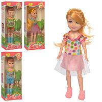 Кукла шарнирная, 4 вида (2 вида девочка, 2 вида-мальчик), кор., 7-18-4 см.