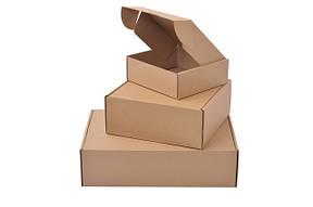 Коробки картонные бурые