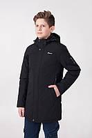 Демисезонная куртка на мальчика чёрная M-64C
