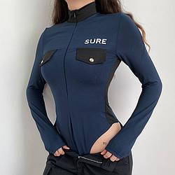 Женское боди Dana police с длинным рукавом