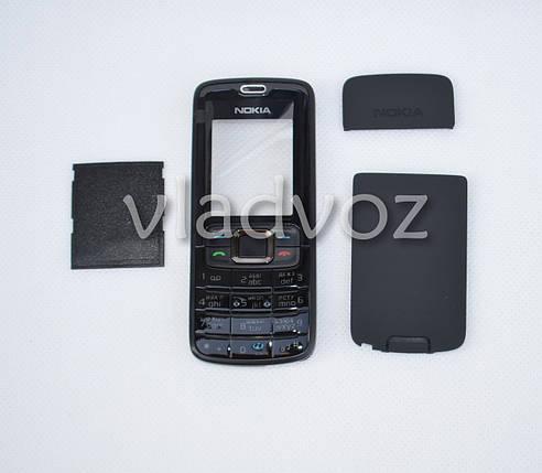 Корпус для Nokia 3110c чёрный с кнопками class AAA, фото 2