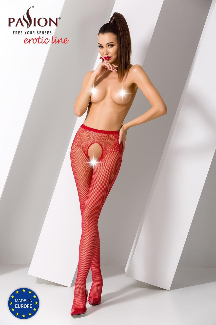 Еротичні колготки S019 red