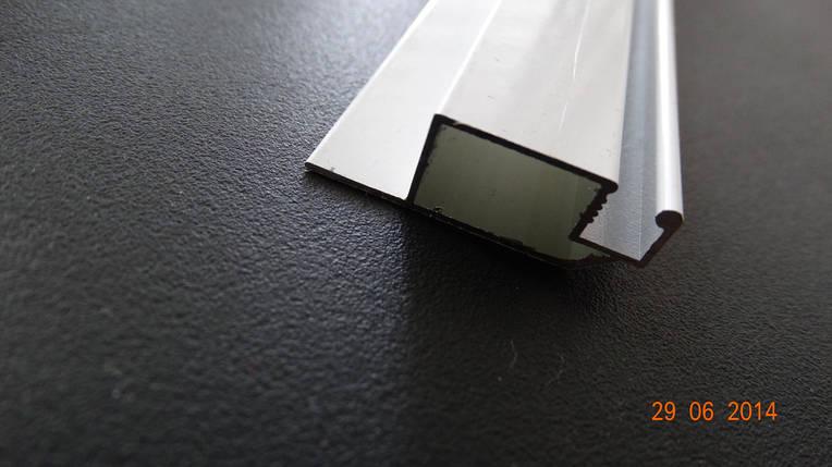 Профиль москитный 10х30 белый, фото 2