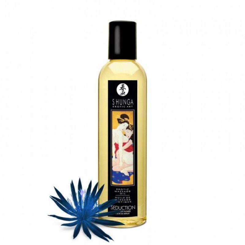 Массажное масло Shunga Seduction - Midnight Flower (250 мл)