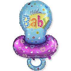 Мини-фигура FLEXMETAL-ФМ Соска Welcome Baby голубая
