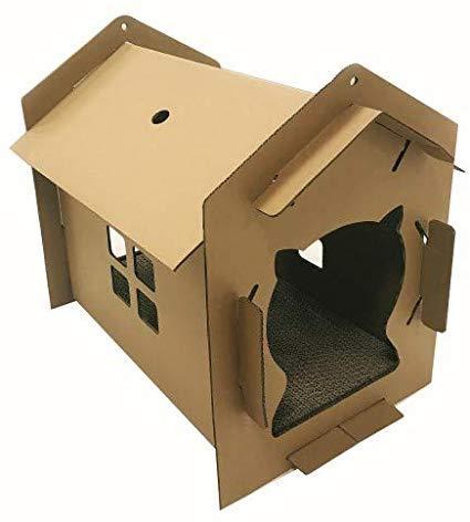 Когтеточка CROCI Villa mono, гофрированный картон, 42x35x50см (цена за 1шт)