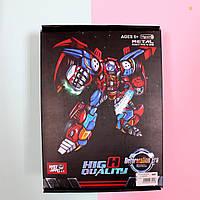 Игрушка Трансформер металл, робот+машинка для мальчика