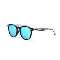 Модные Солнцезащитные очки в стиле Ray-Ban круглые серые стильные, фото 1