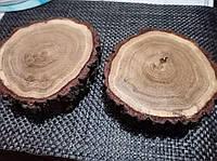Слэб, торцевой срез дерева, спил, панно, декор из дерева