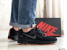 Мужские текстильные кроссовки Nike Run shield,черные, фото 2