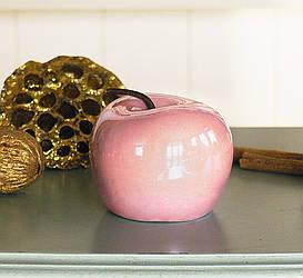 Декоративное яблоко микс керамика h8см 1014898