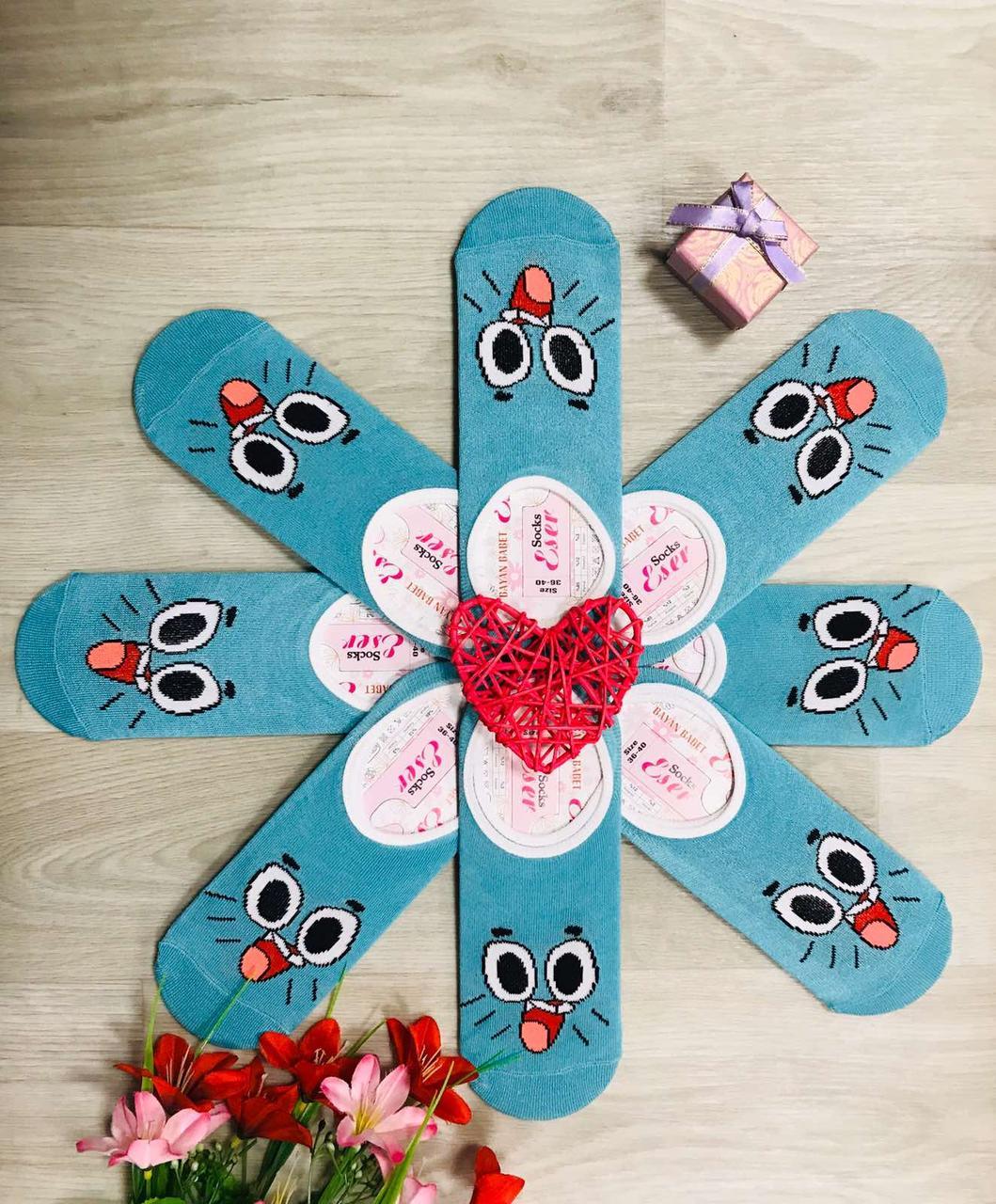 Следы - подследники демисезонные хлопок Happy Socks Турция размер 36-40