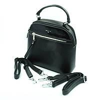 Сумка-рюкзак женская, искусственная кожа, черный Арт.19705 Baliviya (Китай)