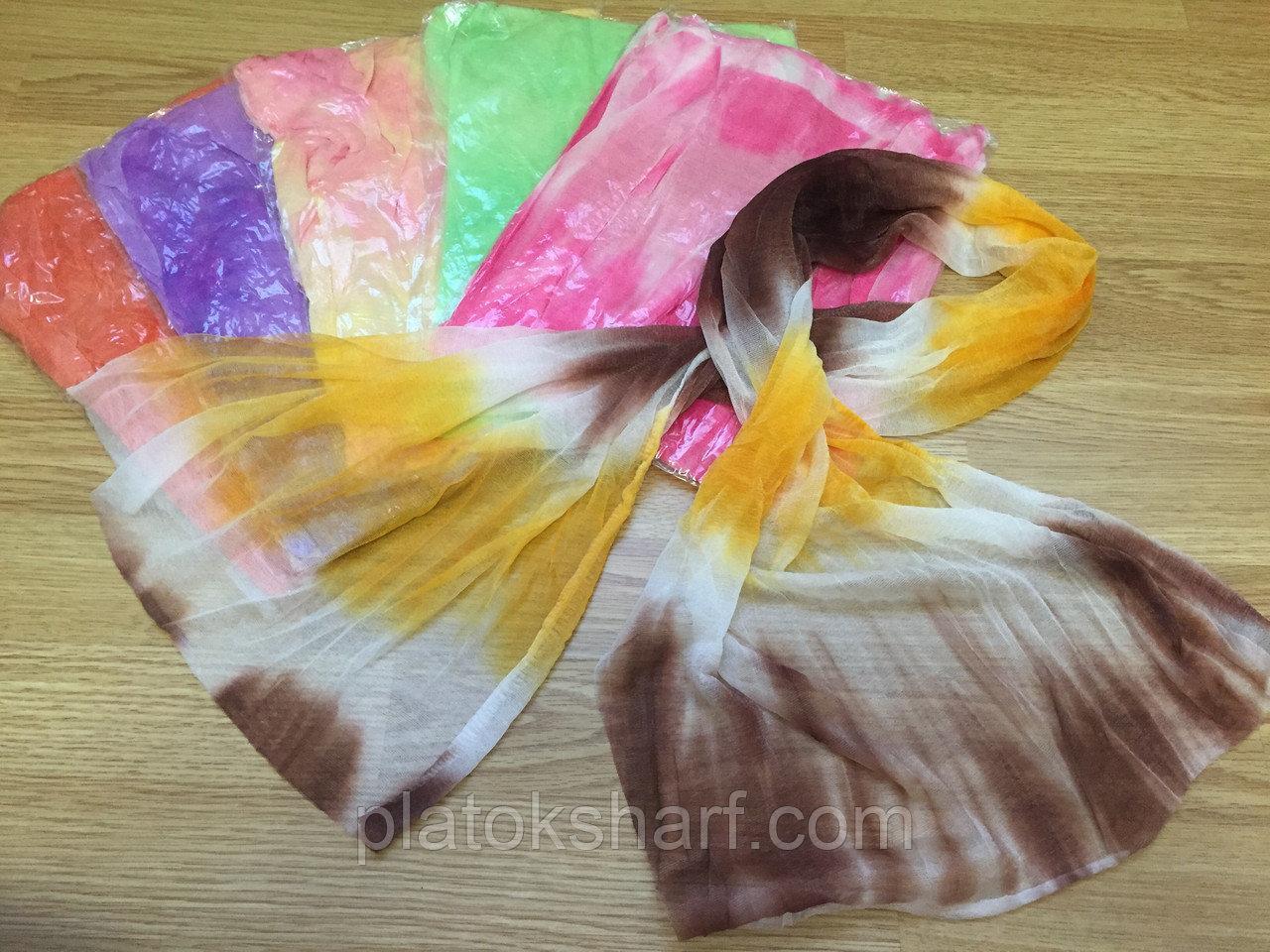 Шарфи Жатка «Меланж», шарфи жіночі кольорові