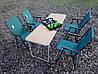 Складная комфортная мебель для пикника с походным набором посуды