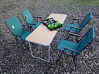 Складная комфортная мебель для пикника с походным набором посуды, фото 1