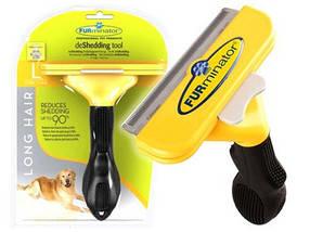 Фурминатор | Расческа для вычесывания шерсти больших пород собак Deshedding tool Large dog 10,6 см
