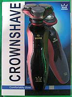Электробритва Crown RQ-9001 (аккумуляторная, беспроводная)