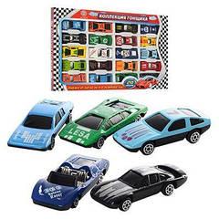 Набор машинок, железная 927-20 Коллекция гонщика,металл, 20 шт 6,5 см, в кор-ке, 33-21-2 см