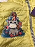 Куртка для девочек 3-8 лет, фото 2