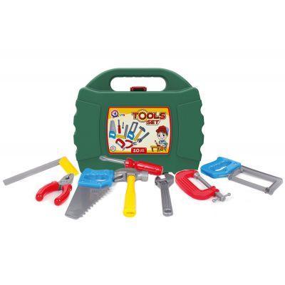 Набір інструментів 4371 - 10 предметів у коробці 27 х 22.5 х 8.5 см