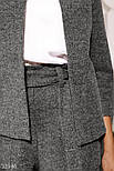 Костюм с шортами из эко-кашемира темно-серый, фото 2
