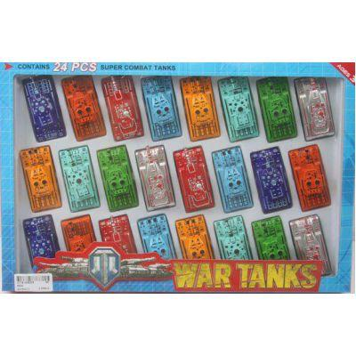 "Набор танков 6824 (96шт/2) ""24 танка "" в кор 37*25*3см"