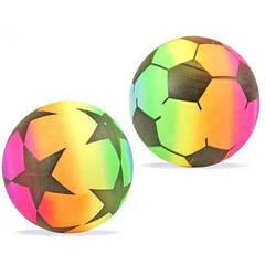 Мяч резиновый C12763 (500шт) ассорти, 25см 80г