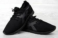 Кросівки чоловічі літні чорного кольору кроссовки