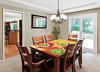 Наклейка на стол Zatarga Цитрусовый микс для домов, квартир, столов, кофейн, кафе