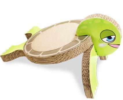 Когтеточка CROCI Черепаха, гофрированный картон, 26x36x20 см (цена за 1шт)