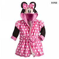 Плюшевый халат Minnie Mouse для девочки. 100 см, фото 1