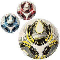 М'яч футбольний 2500-26ABC размер5,ПУ1,4мм,32панели,400-420 г,3цвета PU