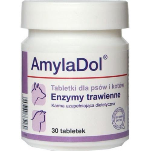 Пищевая добавка Dolfos AmylaDol для котов и собак, 30 табл.