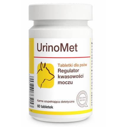 Таблетки Dolfos UrinoMet для регулировки кислотности мочи для собак, 60 табл., фото 2