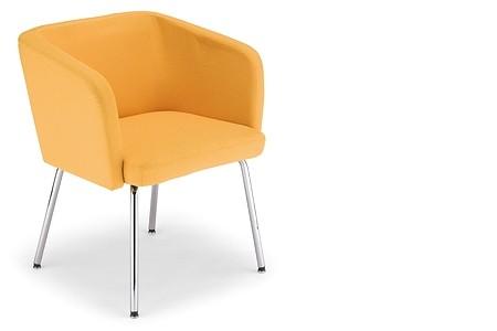 Кресло для кафе Хеллоу 4 L Chrome