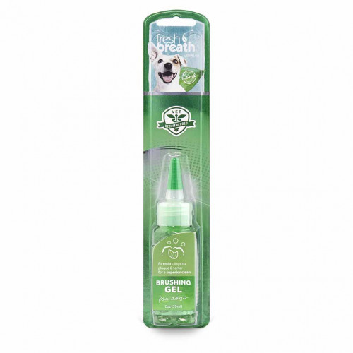 Гель для чистки зубов TropiClean Fresh Breath Brushing Gel для собак, 59 мл