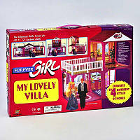 Домик для кукол Барби в коробке