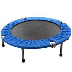 Батут MS 1426 диаметр 100 см,складной,высота 22,5 см,на пружинах 32 шт,ножки 6 шт,в кор-ке 77-39-9см