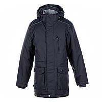 Куртка парка демисезонная 9-18+ ROLF 1, размеры 134-152, XS,M,L ТМ HUPPA графит 17640110-00018