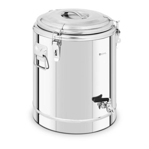 Термос кофе - 30 л - краник Royal Catering